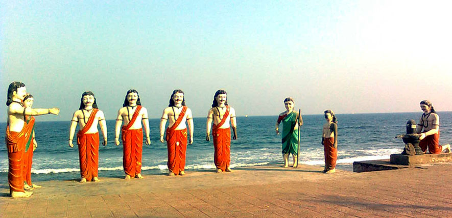 one day tour from bheemili in visakhapatnam