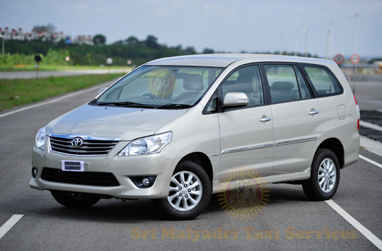 Innova Car Rental Services in Visakhapatnam