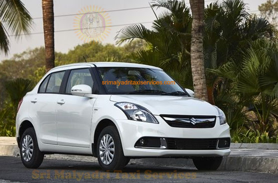 Swift Dzire Car Rental Services in Visakhapatnam